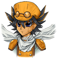 5Ds: Junk Synchron Yusei by Kathisofy