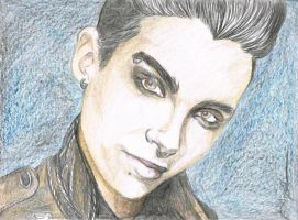Saturn - Bill Kaulitz by angelteva