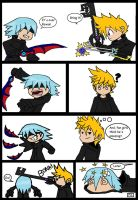 How Riku REALLY lost to Roxas by HPHyde