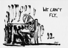 We can't fly. by Nanook94