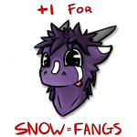 +1 For Snowwy by Snow-Fangs