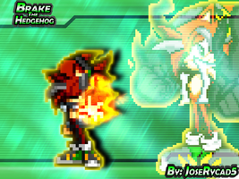 .:Brake:. Sonic Battle Wallpaper Sprite by JoseRycad5