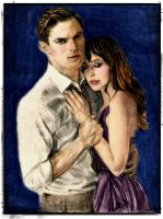 Desperate Romantics Colorized: Christian and Ana by SHParsons