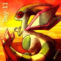 Day 11 - Favorite Ground Type by Mikoto-chan