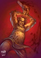 Leatherface by Arqueart
