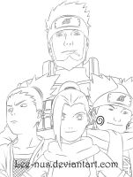 Team 10 Lineart by Lee-nus