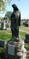 Mount Olivet Cemetery Mary 184 by Falln-Stock