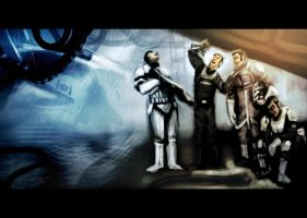Star Wars : Four Brothers by devowankenobi