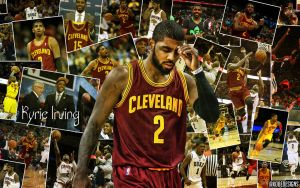 Kyrie Irving piece by kobedesigns