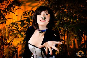 :BioshockInfinite: Booker, Catch! by AlouetteCosplay