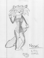 Noomi : Warrior of the Future by Chalkluke4
