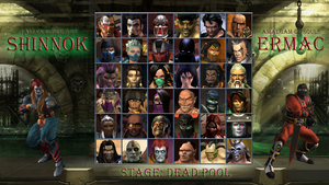 My new Mortal Kombat select screen by Ser3234