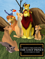 The Lost Prince COVER by LauraLionheart