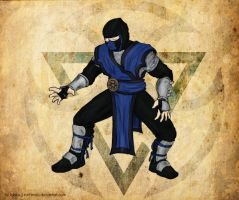 Sub-Zero from Mortal Kombat by torzhinskiy