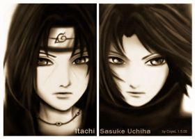 itachi and sasuke 03 by CoyeL