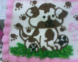 puppy cake by nlpassions