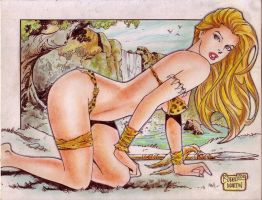 Jungle Girl (#11) by Rodel Martin by VMIFerrari