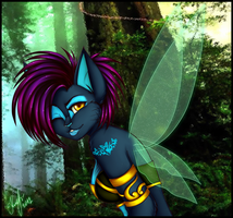 forest fairy by Sasha-Retriver