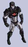 god of warmachine by samuraiblack