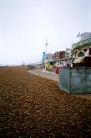 Brighton Beach by prudentia