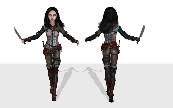 AliceFairytale wip 1 by tombraider4ever