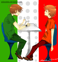 APH - Italy's brothers by Sekiseiinko