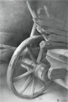 Wooden Wheel by DChernov