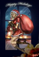 Mrs. Claus by i-KEL