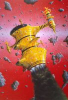 Chris Foss Tribute by AlanGutierrezArt