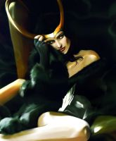 Contest Entry - Lady Loki by Gregory-Welter