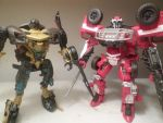 Inspired by Ratchet and Sideswipe... by seekerblackout