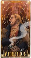 Varric and Ambition by Ioana-Muresan
