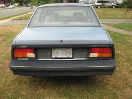 1984 Chevy Cavalier rear view by Reyphotos
