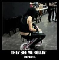 Andy be Rollin And They Be Hatin by xbvbxlovex