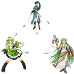 Green-Haired Hexafusion Challange by IkeFireEmblem