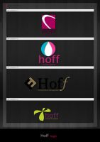 Logo variations Hoff by simoner