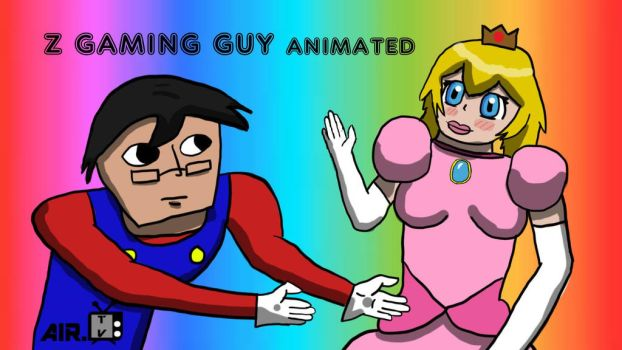 Z Gaming Guy animated! by A-I-R-ART