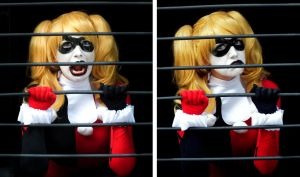 Harley Quinn Cosplay - BUSTED! by SailorMappy
