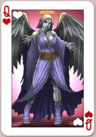 Silver Angel - Queen of Hearts by CerberusLives