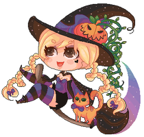 Claudia the witch by SugarPip