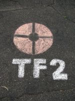 Team Fortress 2 Chalk by ninjaXofXtheXnight