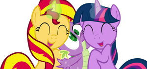 Huzzah! the fun has been DOUBLED! by titanium-pony