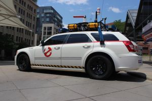 Ghost Busters Car - Ecto Stock by BeccaB-323-STOCK