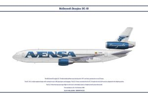 DC-10 Avensa by WS-Clave