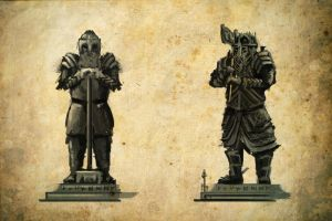Forodren Auth: Dwarven Statues 1 by Meanor