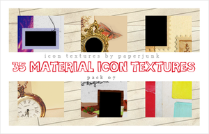 IT Pack 07: Materials by PaperJunk