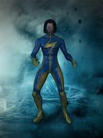 Static Shock - Injustic Gods Among Us by romero1718