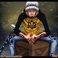 Trafalgar Law by Kasukiii