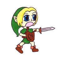 - COLLAB: Child Link OOT. by Poukini