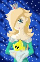 Rosalina and her Luma by PrinceRozetta63